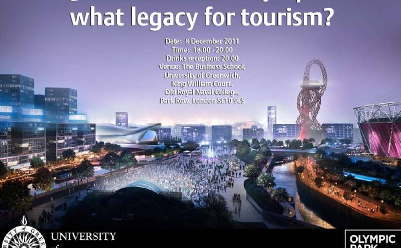 Event: The tourism legacy of the 2012 Olympic Park – 8th December2011
