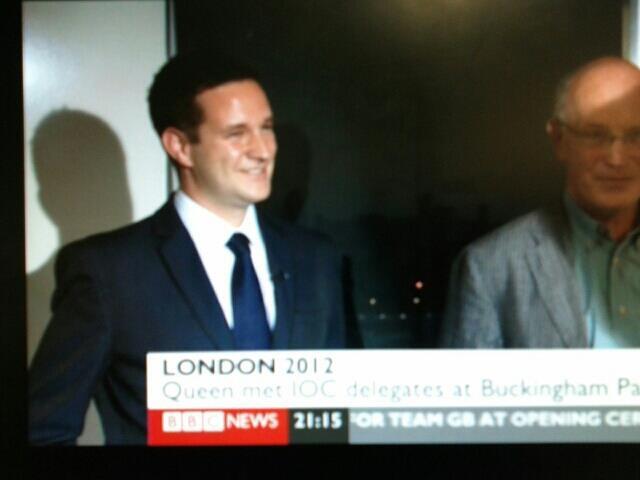BBC News Olympic legacy debate with IanSinclair