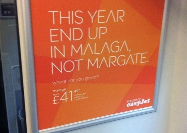 Social media and tourism marketing: Margate vs.Easyjet
