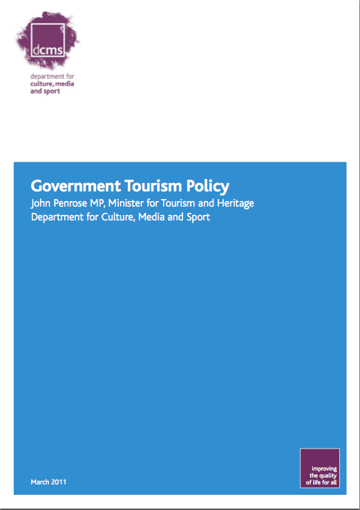 UK Tourism Policy and the 2015 General Election (2/2)