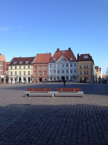 The Hanseatic town of Stralsund