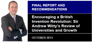 Implementing the Witty Review: Universities and EconomicDevelopment