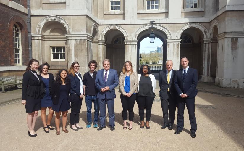 Tourism Minister visitsGreenwich