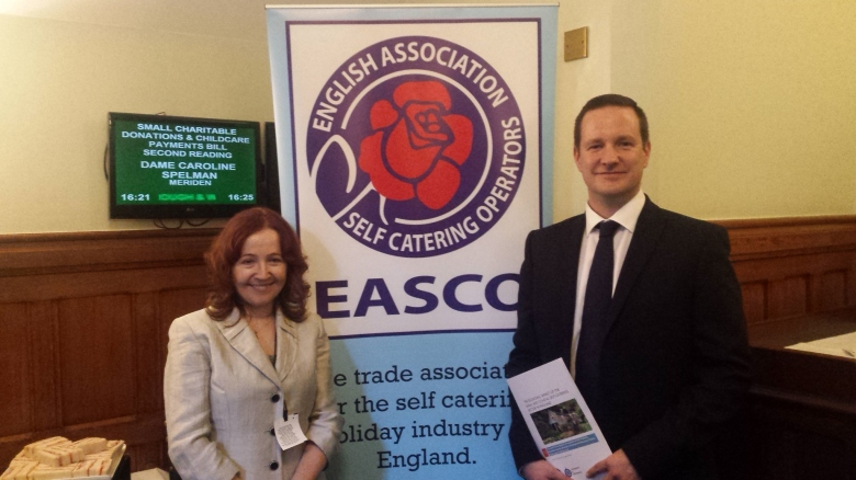 James Kennell & Ewa Krolikowska at the House of Commons launch for the report