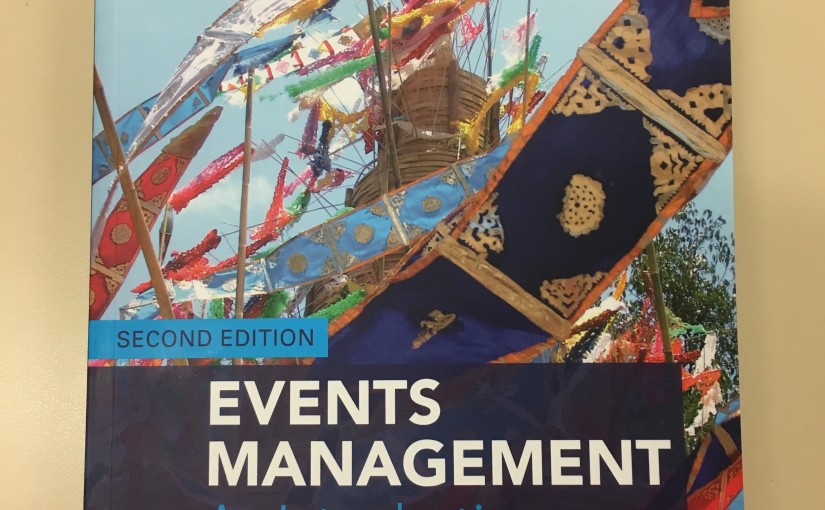 Events Management: An Introduction – 2nd edition nowavailable!