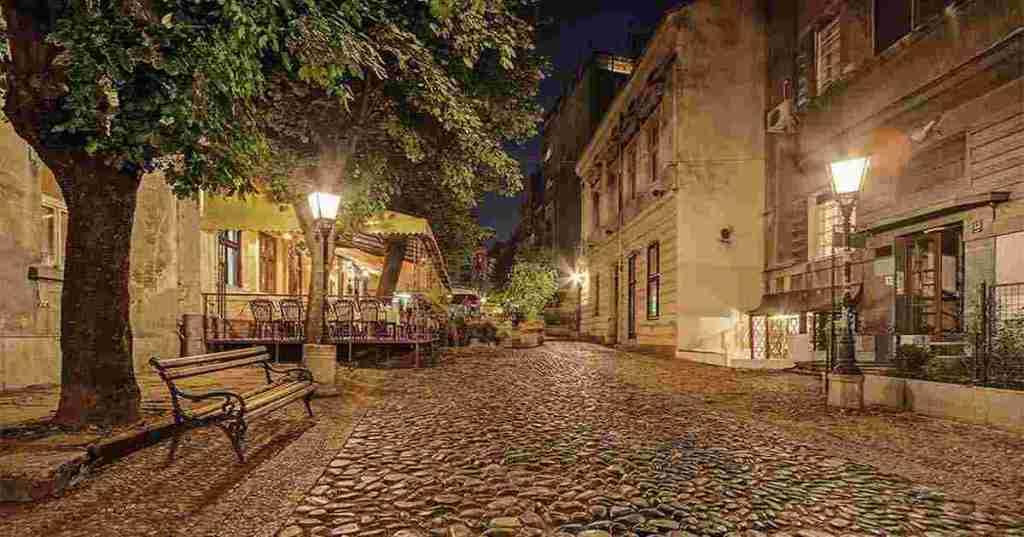 Skadarlija street,  Belgrade